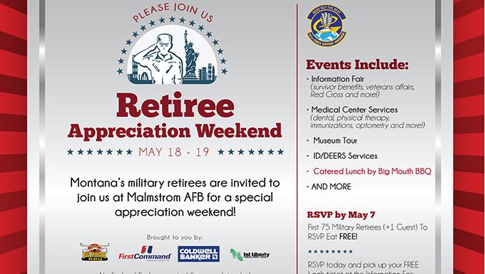 Annual Retiree Appreciation Weekend May 18-19