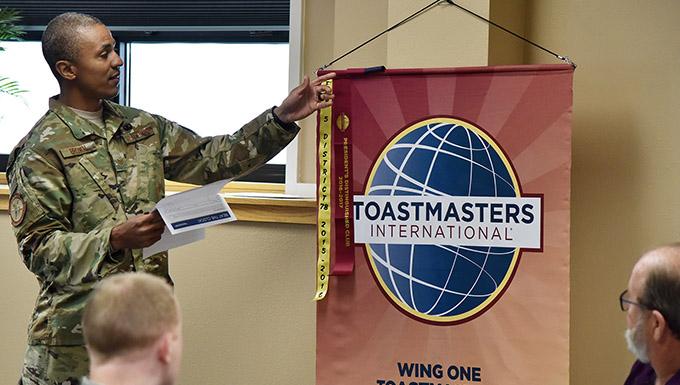 Toastmasters club builds leaders, instills confidence