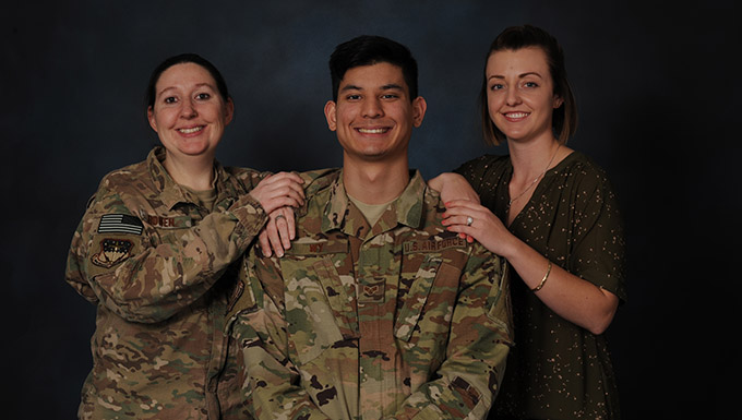 Recognition, intervention and compassion saved Airman's life