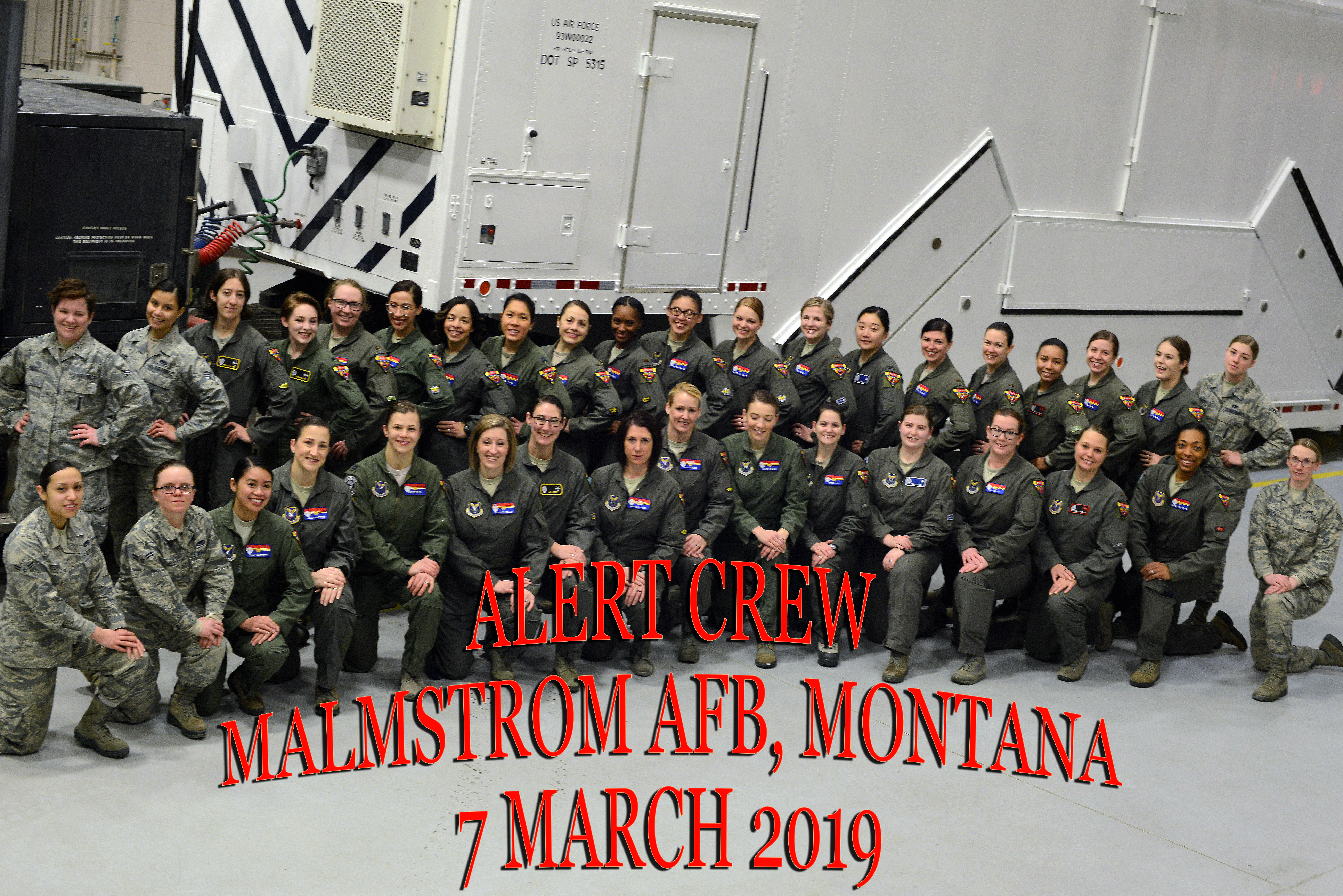 Malmstrom celebrates Women's History Month, all-female field mission