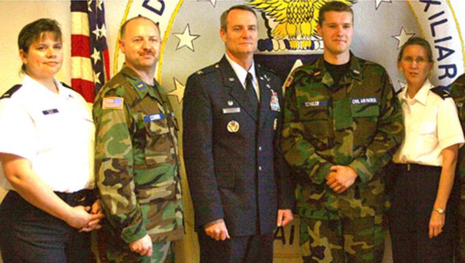Malmstrom family pledges to Montana Civil Air Patrol