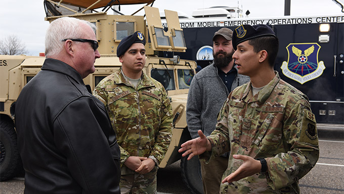 Malmstrom hosts Air Force civic leaders