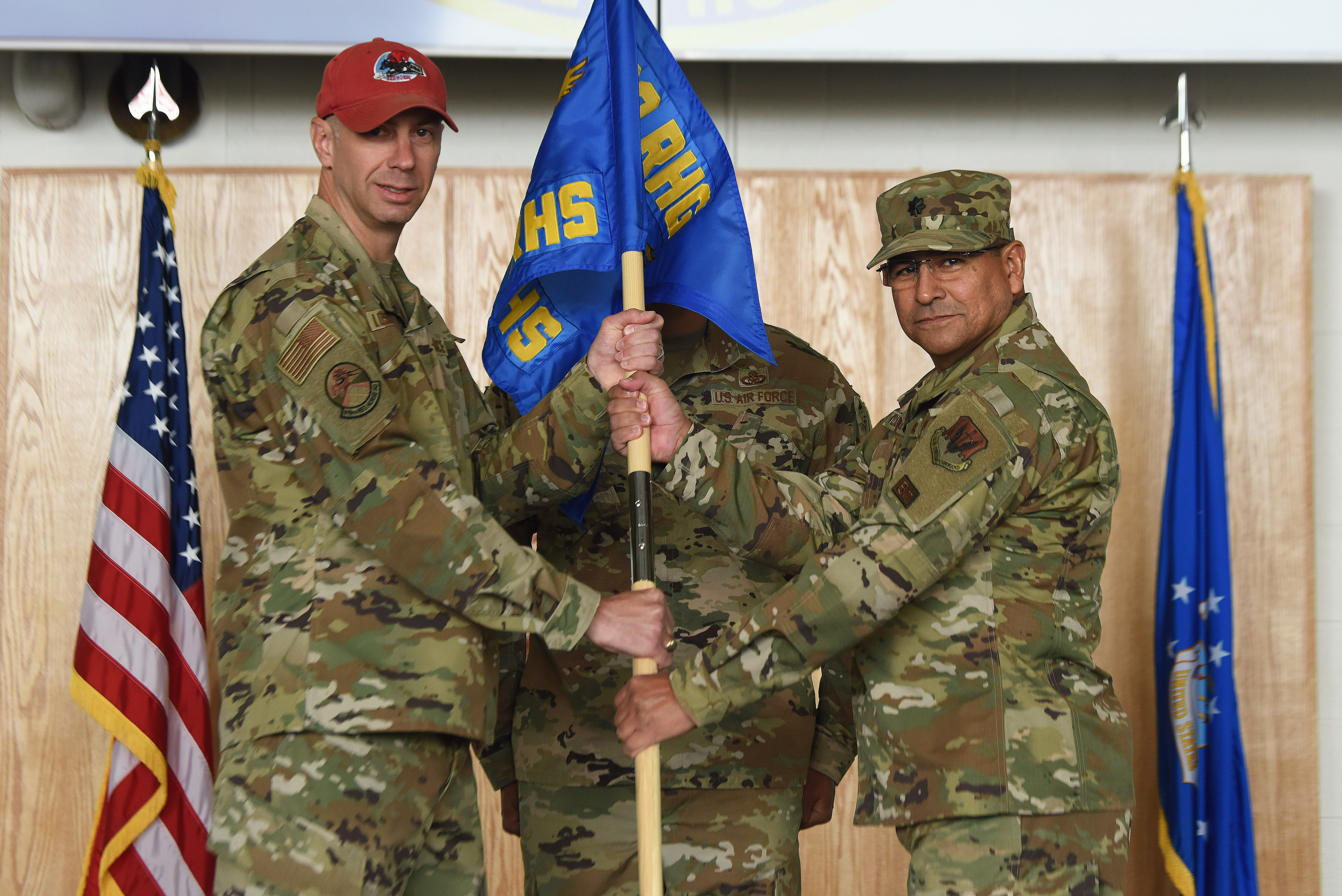 819th RED HORSE Squadron Change of Command Ceremony