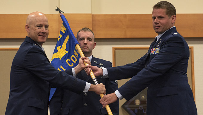 341st Contracting Squadron Change of Command
