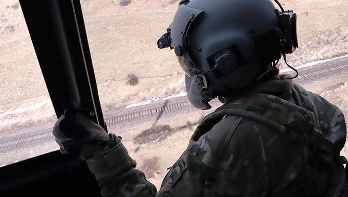 Photo of a flight crew member